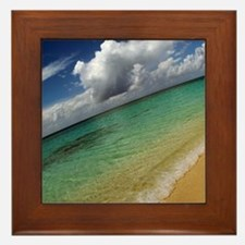 Caribbean Dream Framed Tile