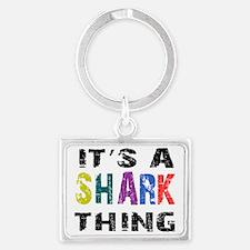 sharkthing Landscape Keychain