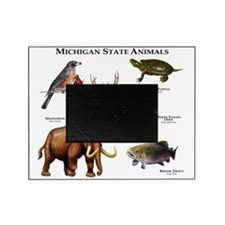Michigan State Animals Picture Frame