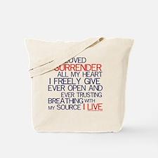Surrendertee Tote Bag