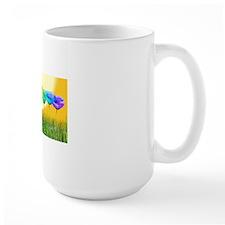 Row Of Poppies In the Sun Mug