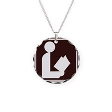 CCPoems -  Library Sign Necklace