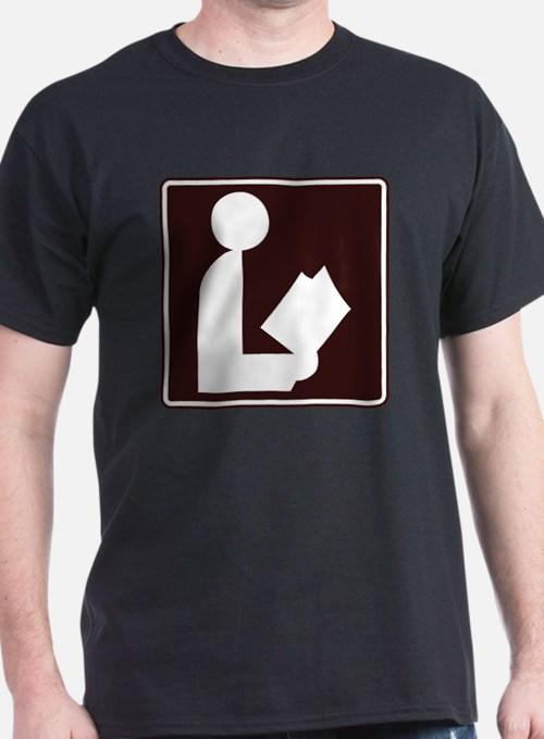 CCPoems -  Library Sign T-Shirt