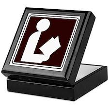 CCPoems -  Library Sign Keepsake Box