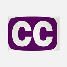 CCProseKids - CC Logo Rectangle Magnet