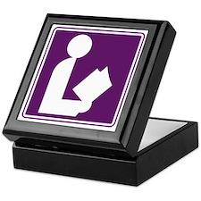 CCProseKids -  Library Sign Keepsake Box