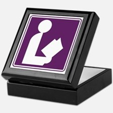 CCProseKids -  Library Sign Keepsake Box