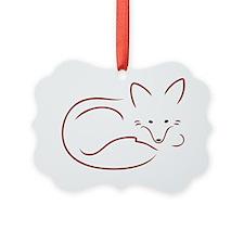 Vulpes Vulpes Ornament