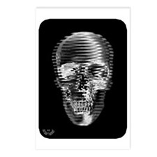 Silver Skull Postcards (Package of 8)
