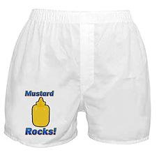 Mustard Rocks Boxer Shorts