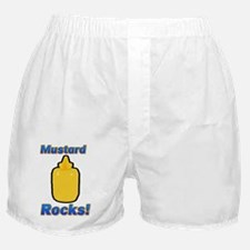 Mustard Rocks Boxer Shorts