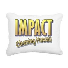 Impact Cleaning Hawaii B Rectangular Canvas Pillow