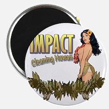 Impact Cleaning Hawaii Hula Girl Magnet
