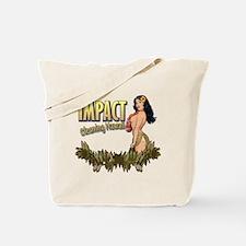 Impact Cleaning Hawaii Hula Girl Tote Bag