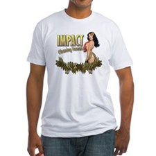 Impact Cleaning Hawaii Hula Girl Shirt