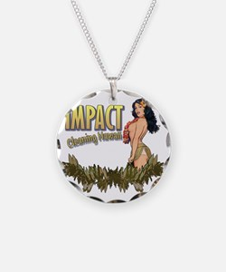 Impact Cleaning Hawaii Hula  Necklace