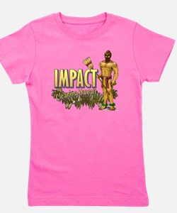 Impact Cleaning Hawaii Broom Warrior Girl's Tee