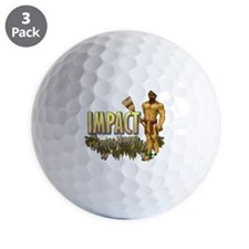 Impact Cleaning Hawaii Broom Warrior Golf Ball
