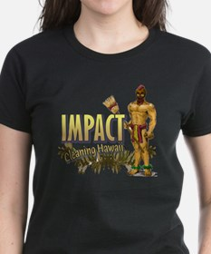 Impact Cleaning Hawaii Broom  Tee