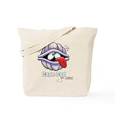 Classic Quahog on White Tote Bag
