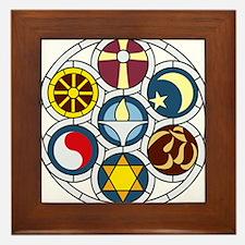 The Unitarian Universalist Church Rock Framed Tile