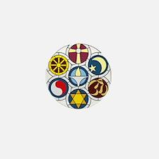 The Unitarian Universalist Church Rock Mini Button