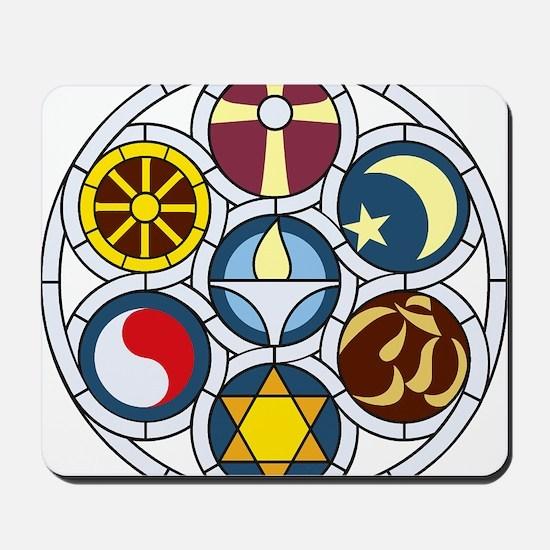 The Unitarian Universalist Church Rockfo Mousepad
