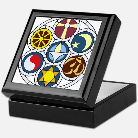 The Unitarian Universalist Church Roc Keepsake Box