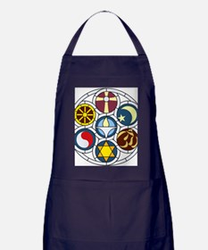 The Unitarian Universalist Church Roc Apron (dark)