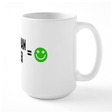 Plus Belgian Beer Equals Happy Mug