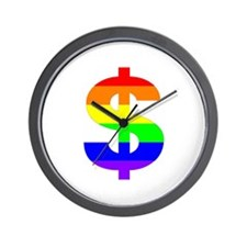 Divorce Lawyers for Gay Marriage Wall Clock