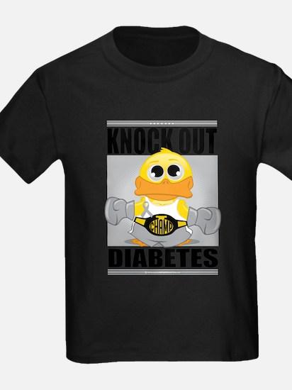 Knock Out Diabetes T-Shirt
