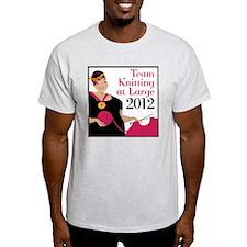 Team Knitting at Large 2012 - Ravely T-Shirt