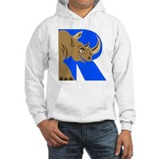 R is for Rinoceros Hoodie
