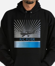 RC Flyer Hign Wing Airplane Hoodie