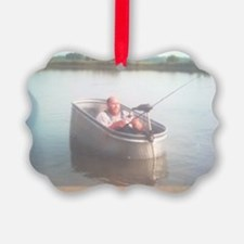 Hillybilly bass boat 2 Ornament