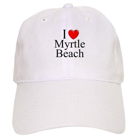 """I Love Myrtle Beach"" Cap"