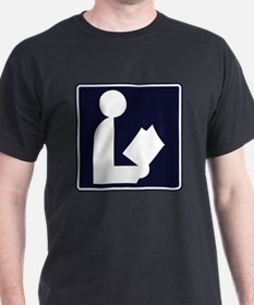CCProse - Library Sign T-Shirt