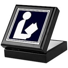 CCProse - Library Sign Keepsake Box