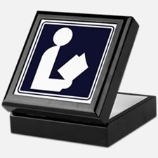 CCProse - Library Sign Keepsake Box