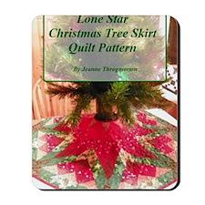 Lone Star Christmas Tree Skirt Pattern Mousepad