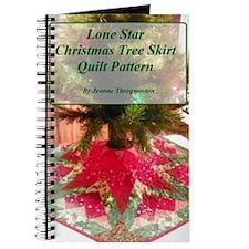 Lone Star Christmas Tree Skirt Pattern Journal