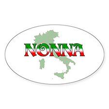 Nonna Oval Stickers
