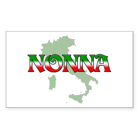 Nonna Rectangle Sticker