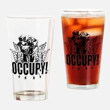 Occupy! Drinking Glass