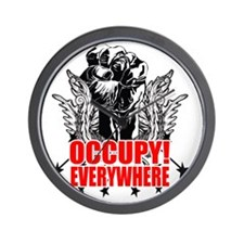 Occupy Everywhere! Wall Clock