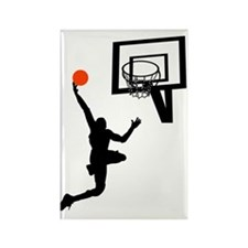 Slam Dunk Rectangle Magnet