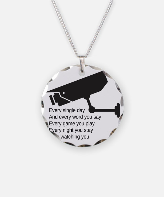 Watching You Necklace