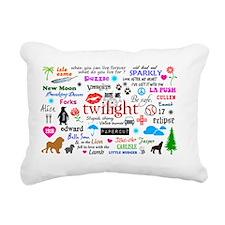 MiniPo TwimEM Rectangular Canvas Pillow