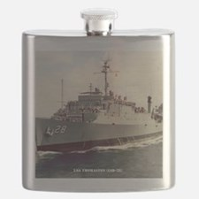 thomaston framed panel print Flask